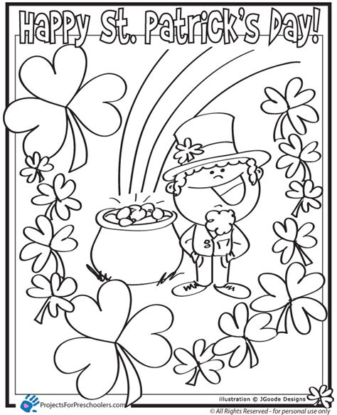 coloring pages st patricks day az coloring pages