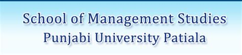 Mba Global Business In Punjabi by School Of Management Studies Punjabi Patiala
