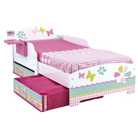lit enfant fille 70x140 patchwork tiroirs achat vente