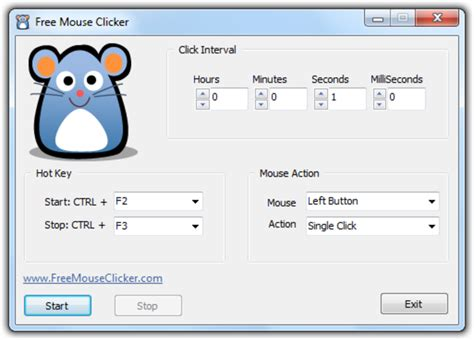 Auto Mouse Clicker by Free Mouse Auto Clicker Formerly Standard Mouse Auto