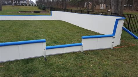 backyard hockey rink boards hockey rink boards rink board packages backyard rink