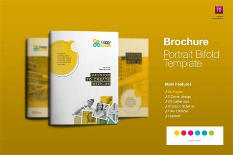 layout features of a leaflet 70 modern corporate brochure templates design shack