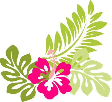 tropical pattern png image tropical flower clip art flowers clip art hawaiian