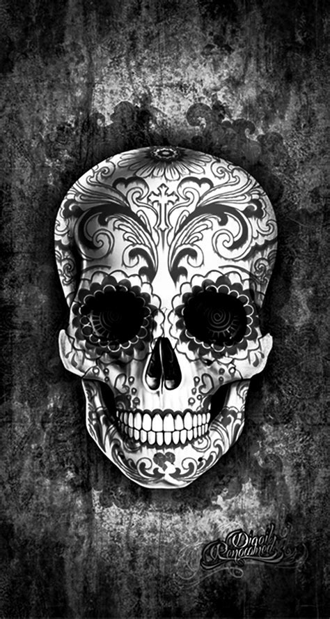 sugar skull 25 best ideas about sugar skull wallpaper on skull wallpaper sugar
