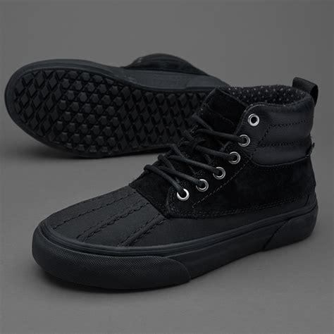 Sepatu Vans Sk8 Hi Original sepatu sneakers vans womens sk8 hi pato mte black