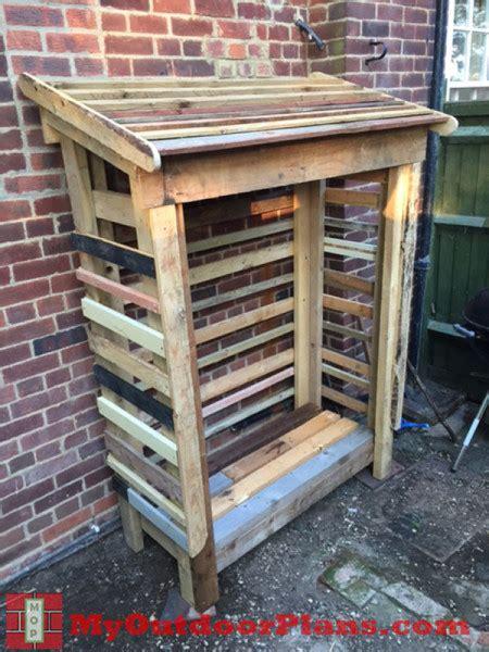Pallet Wood Shed Plans