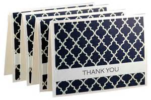 items similar to simple thank you cards modern thank you notes handmade thank you card set