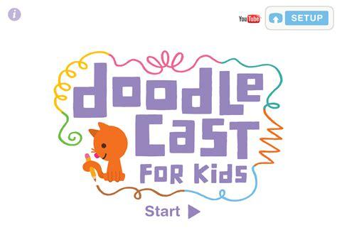 mini doodle cast sago mini doodlecast review for teachers common sense