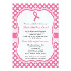 breast cancer invitations amp announcements zazzle