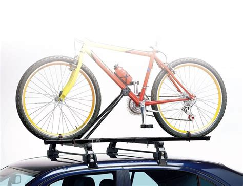 Audi A3 Bike Rack by Car Roof Mounted Upright Bicycle Rack Bike Cycle Carrier