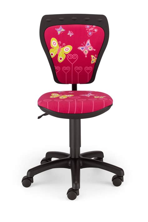 Pink Swivel Desk Chair by Childrens Butterfly Pink Computer Desk