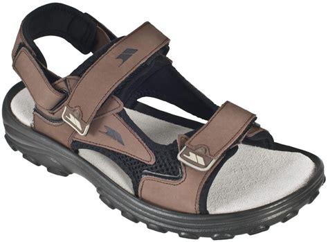walking company sandals mens trespass shoey nubuck leather hiking walking trail