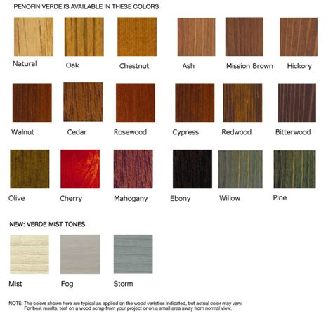 Woods L Color Chart by The 25 Best Ideas About Wood Stain Color Chart On