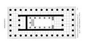 Olympia Floor Plan temple of hephaestus interactive ancients