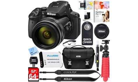 Nikon P900 Offers by Nikon Coolpix P900 16mp 83x Zoom Bundle 13 Groupon