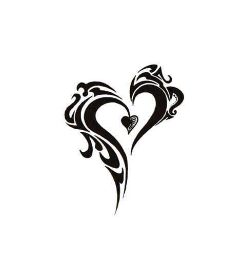 heart tribal tattoo designs new tribal by blakskull on deviantart