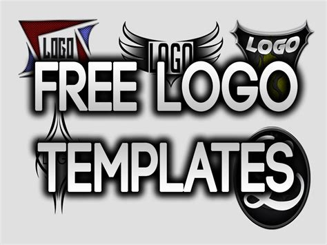 free photoshop logo templates free logo templates for photoshop part 2