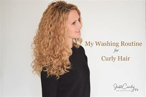 wash leave wavy hair justcurly com bring your curls to life
