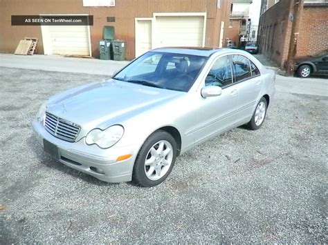 Mercedes C240 2003 by 2003 Mercedes C240 Base Sedan 4 Door 2 6l