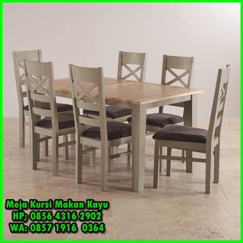 Meja Makan Jati 4 6 Kursi meja makan jati minimalis 6 kursi meja kursi makan