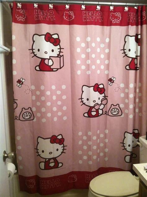hello kitty shower curtains best 25 hello kitty house ideas on pinterest kitty
