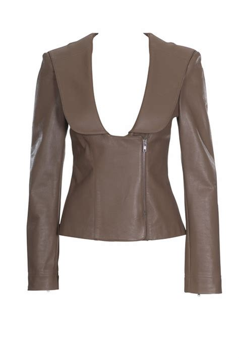 sewing pattern leather jacket leather jacket 07 2010 118 sewing patterns burdastyle com