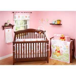 crib set winnie the pooh sweetest hunny 4 piece crib bedding set walmart com