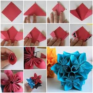 Making Flowers by How To Make Beautiful Origami Kusudama Flowers Beautiful