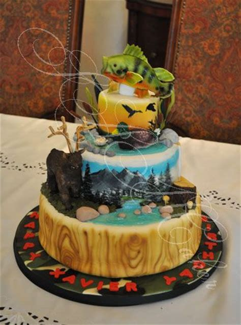 Best Outdoor Themed Cakes Images On Pinterest