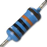 resistor 10 mohm hvr3700001005fr500 vishay through resistor 10 mohm 3 5 kv axial leaded 500 mw 177 1