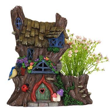 solar fairy house solar fairy house planter only 59 99 at garden fun