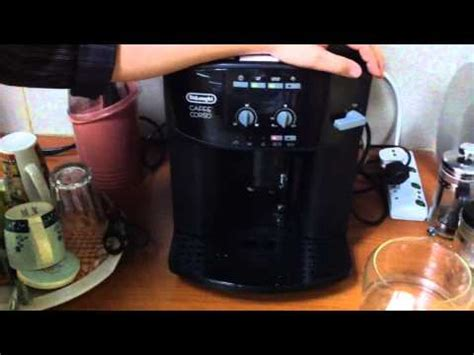 delonghi espresso cleaning how to clean the infuser of a de longhi bean to cup cof