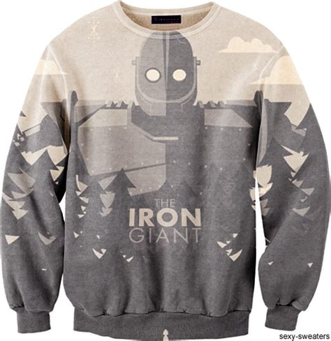 Sweater Iron Dealldo Merch iron sweater blue and white t shirts iron clothes and closets