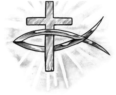 cross tattoo with jesus fish 17 best images about catholic signs on pinterest