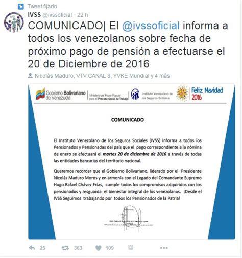 calendario de pagos provinciales pencion mes enero calendario pago 2016 pension seguro social venezuela