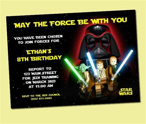 printable lego star wars invitations lego star wars invitations free printable google search