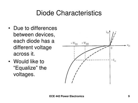 diode characteristics ppt pn junction diode characteristics powerpoint presentation id 3214063