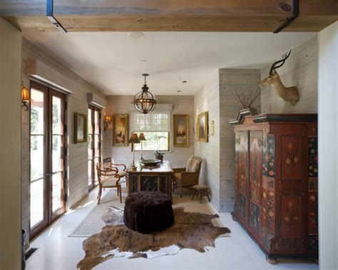 ethnic cottage decor on antler chandeliers turtle shells