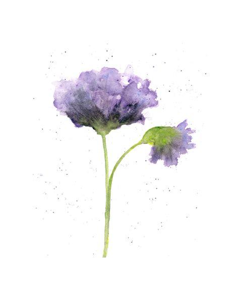 easy watercolor paintings flowers watercolor flower flower art watercolor poppies abstract