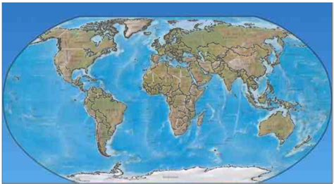 real world map map of the world to scale real breeds picture