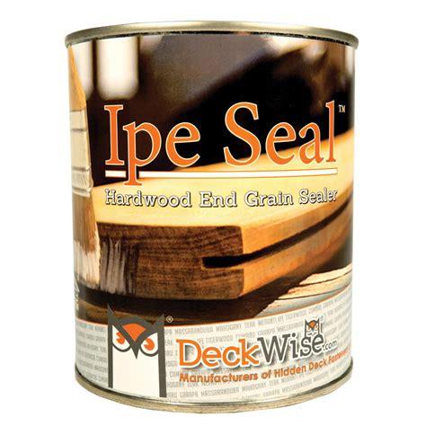 deckwise ipe seal  qt clear waterproofing  grain seal