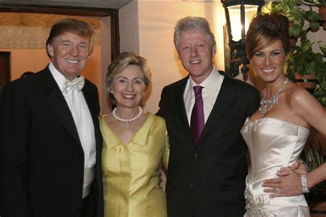 donald trump wedding hillary clinton attended donald trump s wedding gop