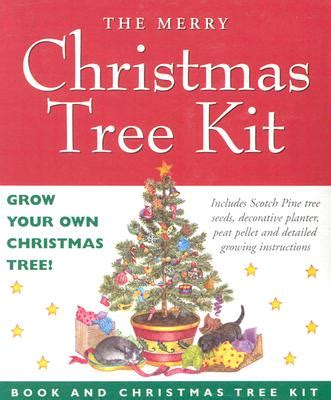 grow your own christmas tree kit hudson booksellers