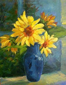 14 Sunflowers In A Vase by 17 Best Images About Painting Ideas On Flower