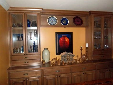 wall units traditional dining room santa barbara