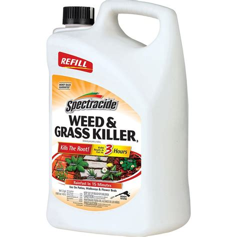 spectracide and grass killer 1 3 gal accushot refill