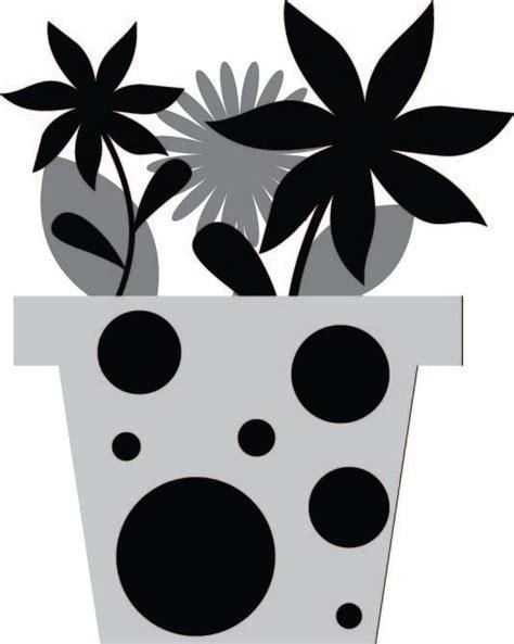 potted flower card templates flower pot free svg files svg and cricut stuff svg