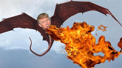 www dragon the trump dragon has been unleashed now that the shackles