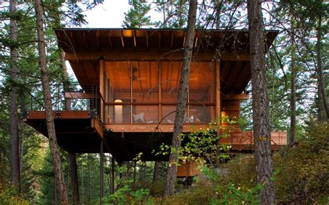 high design  grid cabins escape     style