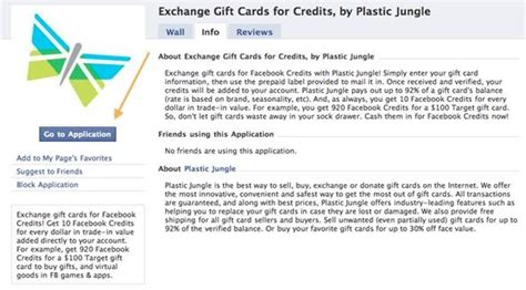 Trade Gift Cards For Other Cards - friday fresh trade gift cards for facebook credits and more 171 internet gadget hacks